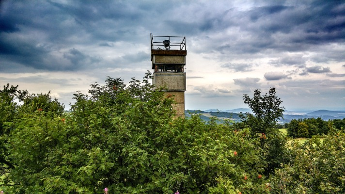Grenzturm der Innerdeutschen Grenze